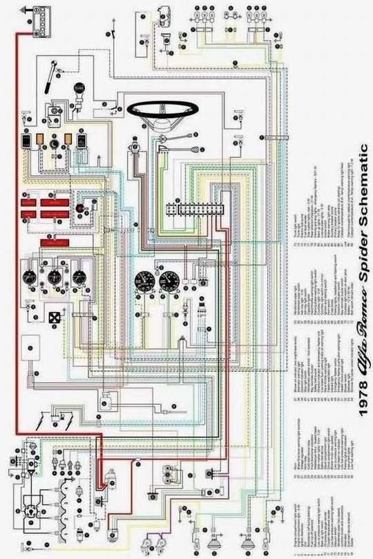 Schema Elettrico Zbx74 78 : Duetto club italia il forum schema impianto elettrico